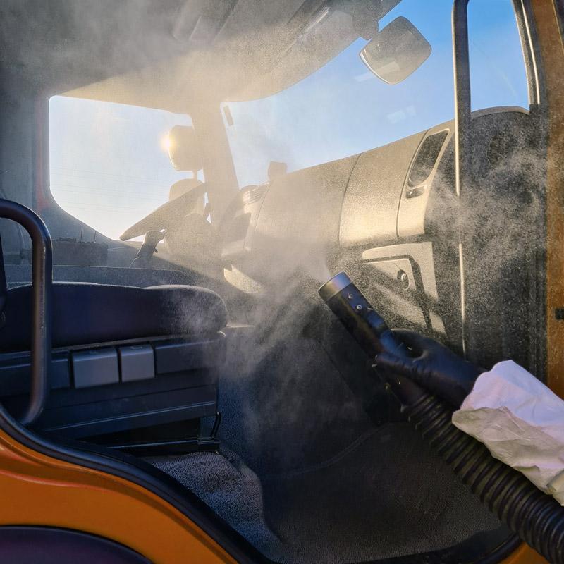 Nébulisation Cabine de camion